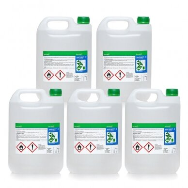 5 x rankų dezinfekantas ANTISEPT D 5L (25L)