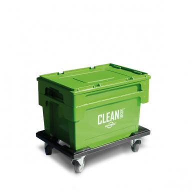 CLEAN BOX su dangčiu 2