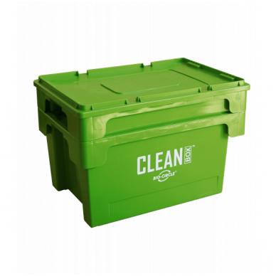 CLEAN BOX su dangčiu 3