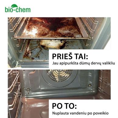 Grilio, grotelių ir orkaitės valiklis - Smoke Resin Remover 6