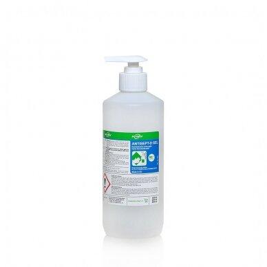 Dezinfekcinis rankų gelis Antisept D Gel 4